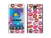 Samsung Infuse 4G I997 Vinyl Decal Sticker - Lips On Lip