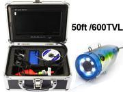 """Professional Underwater Fishing Video Camera +7"""" Color LCD HD Monitor 600TVL System"""