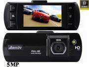 FULL HD 2.7 inch Car Vehicle Camera DVR 1080P(1920*1080) 5.0MP GPS G-Sensor Night Vision +130 Degree CMOS lens + Built-in Battery