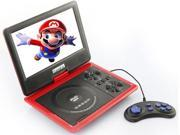 New 9.5 inch Portable DVD VCD CD MP3 MP4 Player + Analog TV