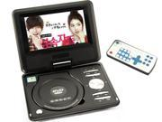 New 9.5 inch Portable DVD VCD CD MP3 MP4 Player + Analog TV (988)_Black