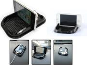 Universal Phone Gadget Dashboard Mat Non Slip Gadget Stand Black for Smart phones and GPS