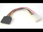 3pc SERIAL ATA SATA Internal POWER CABLE 15pin