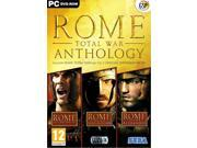 ROME TOTAL WAR + BARBARIAN + ALEXANDER ANTHOLOGY for PC XP/VISTA/7 SEALED NEW