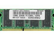 128MB SDRAM MEMORY RAM PC133 SODIMM 144-PIN 133MHZ