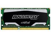Ballistix Sport 8GB DDR3 1866 MHz PC3-14900 Sodimm Laptop Memory RAM