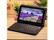 "IRULU X1 9"" Android 4.2 Dual Core Dual Camera 8GB Tablet PC w/ Black Keyboard"