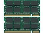 4GB (2X2GB) MEMORY FOR TOSHIBA SATELLITE U205 S5034 S5002 S5021 S5022