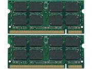 New 2GB KIT (2x1GB) RAM Memory 200 Pins 1.8V DDR2 Dell Latitude D510