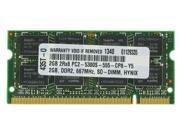 2GB MEMORY FOR TOSHIBA NB255 N240 N245 SP0010L