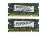 4GB (2X2GB) MEMORY FOR LENOVO THINKPAD T60 6371 6372 6373 6374 8741 8742 8743
