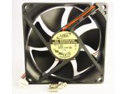 92mm 25mm New Case Fan 12V DC 62CFM PC CPU Computer Cooling Ball Brg 2Wire 341a