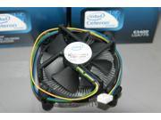 New 4 pin CPU Fan & Heatsink for Socket 775 Processor E97375-001