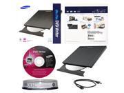Ultra Slim External M-Disc CD Burner Writer+10pk MDisc DVD
