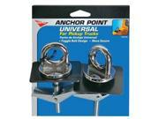 Tie Down Anchors-Chrome Toggle Bolt Anchor 2pack-Chrome