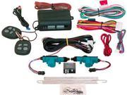 Door Locking  Kit-2-Door Keyless Entry System, Two Remotes