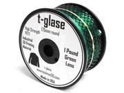 Taulman Clear t-glase Filament - 1.75mm - Green