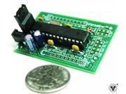 Arduino Compatible Versalino Uno 5 Volt without Headers 16 MHz 32KB Flash 1KB EEPROM 1.37 by 2.1 inch PCB Prototype to Production Platform for Electronic Device Development, Design, and Classroom.