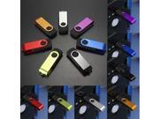 128GB 128G 7Color Swivel Fold Folding USB 2.0 Flash Drive Memory Storage Thumb Pen Stick Gift