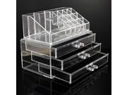 Cosmetic Organizer Luxury Jewelry Acrylic Makeup Case Drawer Lipstick Holder Ship By DHL