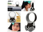 USB Electric Cooling Fan + 3.5mm Car Speaker Player Mic     Three USB / external audio / external voice  for iPhone 6/Plus Samsung LG