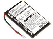 361-00019-11 010-00583-00 Battery for Garmin Nuvi 700 710 710T 750 755 755T 760 760T 765 770 770T 775 785 GPS Navigation Units
