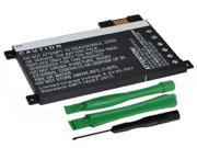 """1400mAh Replacement Battery 170-1056-00, S2011-002-A, DR-A014 for Amazon Kindle Touch 6"""" eReader Tablet D01200 with Installation Tools"""