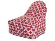 Red Links Kick-It Chair