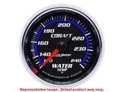 Auto Meter 6132 Auto Meter Cobalt Gauges 2-1/16in Range: 120-240 F Fits:UNIVERS