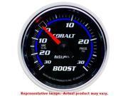 Auto Meter 6103 Auto Meter Cobalt Gauges 2-1/16in Range: 30inHg-30psi Fits:UNIV