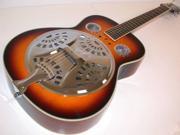 Hohner HR100 Acoustic Resonator Guitar Vintage Sunburst