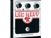Electro-Harmonix Big Muff PI Distortion / Sustainer Guitar Effects, US BM