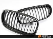 Replacement Real Carbon Fiber Front Grilles - E90 Sedan / E91 Wagon | 3 series LCI