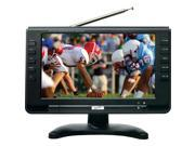 "Supersonic SC-499 9"" Portable Rechargeable Digital LCD Television with Built-in Digital TV Tuner"