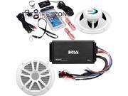 "Boss Audio ASK902B.6 500 Watts Bluetooth Marine Amplifier 6.5"" Speaker System"