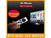 Measy RC9 Mini Handheld 2.4G Wireless Gyroscope Fly Air Mouse Remote Control for