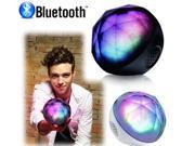 Wireless LED Flashing Magic Ball Bluetooth Speaker Portable Hifi Stereo Colorful Lighting Subwoofer with Remote Control