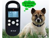 Pet Behave Remote Training System For One Dog Cat LCD Display Pet Training Collar with Beeper and Training Collar Waterproof Collar 3 Dog Training System 300 metre range