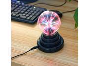"LED Lights 3.5"" USB Plasma Ball Light Vogue Magic Plasma Ball Christmas Decoration USB Touch Light"