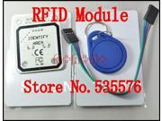 RS232 UART 13.56MHZ RFID Reader Writer Module for Arduino compatible with Code F