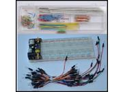 3.3V/5V Breadboard power module+MB-102 830 points Bread board kit +65 Flexible j