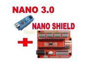 Multi-Function Funduino Nano + NANO Shield Expansion Board for Electric DIY SCM