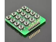 Inline 4X4 matrix keyboard 16 keys keyboard microcontroller external expansion m
