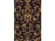 "Dalyn Columbia CM31CH Chocolate  7'10"" x 10'7"" Area Rugs"