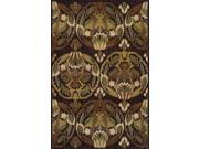 "Dalyn Columbia CM534CH Chocolate  9'6"" x 13'2"" Area Rugs"