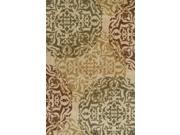 "Dalyn Columbia CM75IV Ivory  7'10"" x 10'7"" Area Rugs"