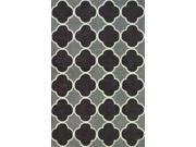 "Dalyn Infinity IF2CC Charcoal  5' x 7'6"" Area Rugs"