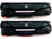 2-Pack Compatible Canon 128, 3500B001, 3500B001AA, CRG-128 Toner Cartridge for Canon FaxPhone L100, L190