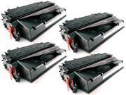 4-Pack iTEKIRO High Yield Toner Cartridge for HP 80X, CF280X, 80A, CF280A&#59; HP LaserJet Pro 400 M401dn, Pro 400 M401dne, Pro 400 M401dw, Pro 400 M401n,Pro 400 M425dn (6900 Page Yield)