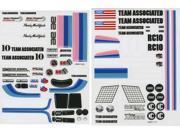 Associated 6866 Classic Decal Sheet RC10